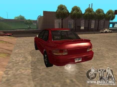 Subaru Impreza WRX STI 1995 para GTA San Andreas left