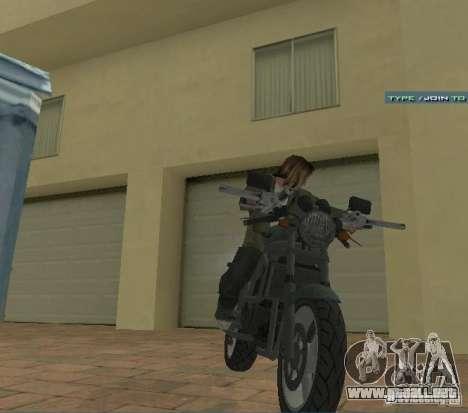 PCJ-600 en GTA IV para la visión correcta GTA San Andreas