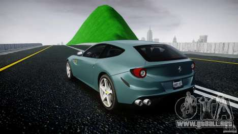 Ferrari FF 2012 para GTA 4 Vista posterior izquierda