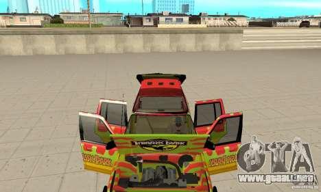 Ford Explorer (Jurassic Park) para visión interna GTA San Andreas