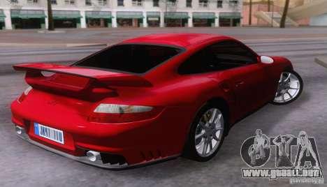 Porsche 911 GT2 para la visión correcta GTA San Andreas