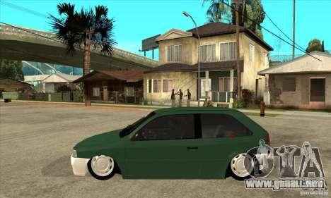 Volkswagen Gol v1 para GTA San Andreas left