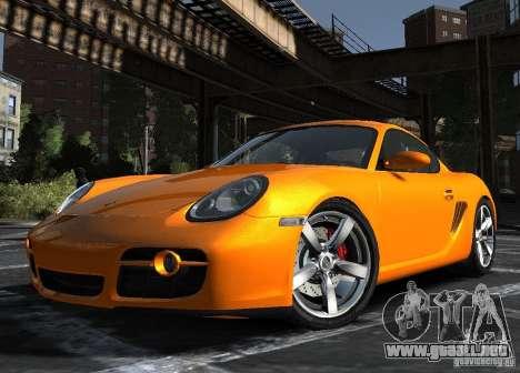 Porsche Cayman S1 para GTA 4 left