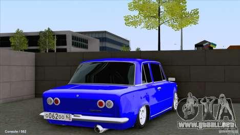VAZ 2101 Coupe Loui para GTA San Andreas vista posterior izquierda