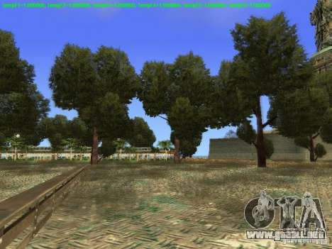 Estatua de la libertad de 2013 para GTA San Andreas quinta pantalla