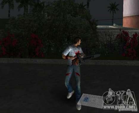 Motosierra para GTA Vice City quinta pantalla