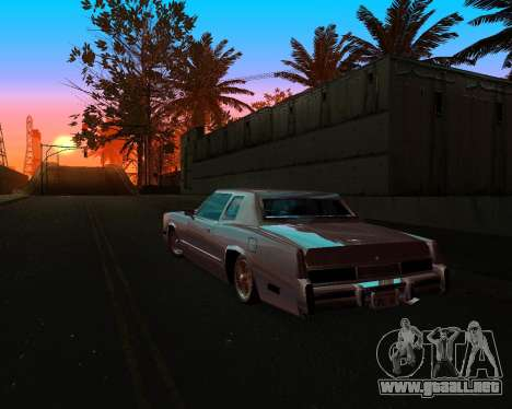 Cadillac Eldorado para la vista superior GTA San Andreas