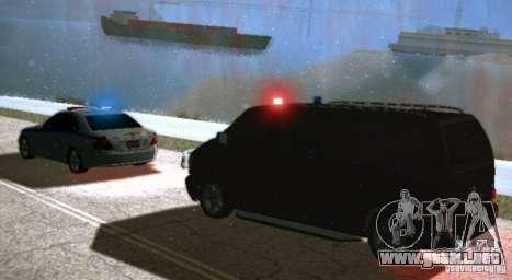 SGU y ELM para GTA San Andreas segunda pantalla