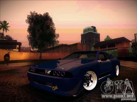 Elegy JDM Tuned para GTA San Andreas vista hacia atrás