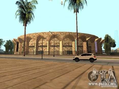 Un nuevo estadio en Los Santos para GTA San Andreas sucesivamente de pantalla