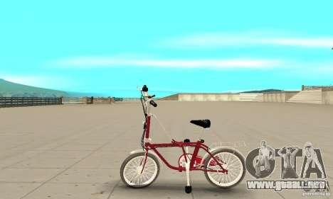 Child Bicycle para GTA San Andreas left