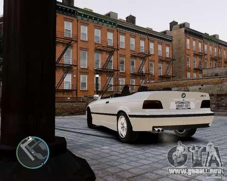 BMW M3 e36 1997 Cabriolet para GTA 4 left
