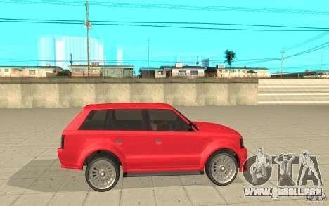 Huntley Sport de GTA 4 para GTA San Andreas left