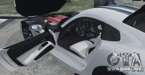 Dodge Viper SRT GTS 2013 para GTA 4 vista lateral
