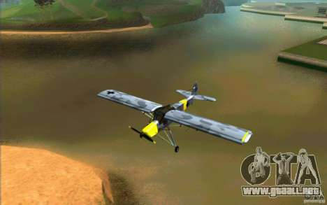 Fiesler Storch para GTA San Andreas left