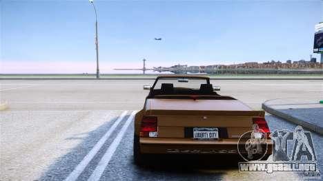 Sabre Convertible para GTA 4 Vista posterior izquierda