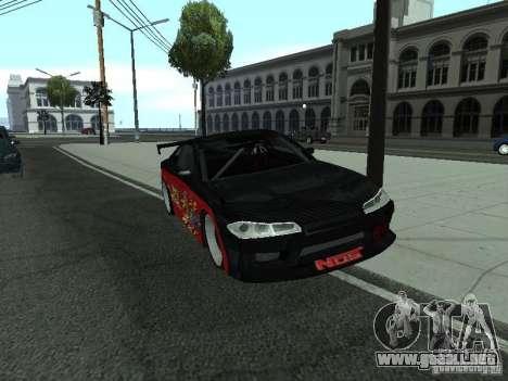 Nissan S15 vDragon para la visión correcta GTA San Andreas