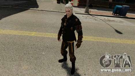 Geralt de Rivia v3 para GTA 4 quinta pantalla