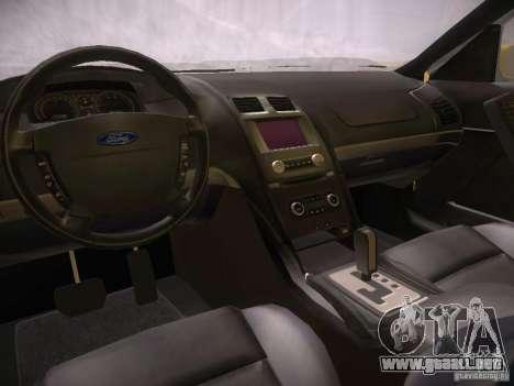 Ford Falcon para visión interna GTA San Andreas