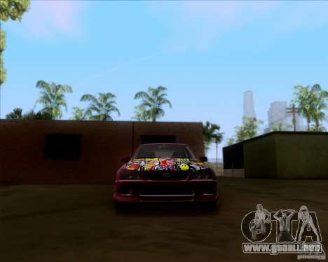 Lexus IS300 Hella Flush para la vista superior GTA San Andreas