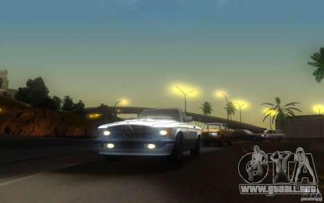 Mercedes-Benz 350 SL Roadster para la visión correcta GTA San Andreas