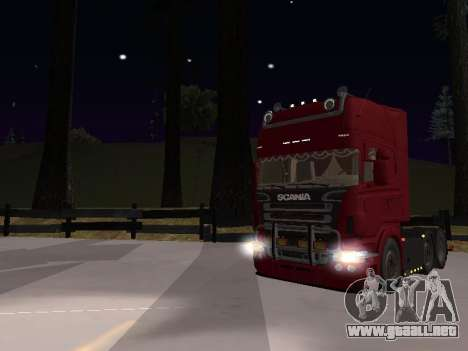 Scania 460 para vista lateral GTA San Andreas