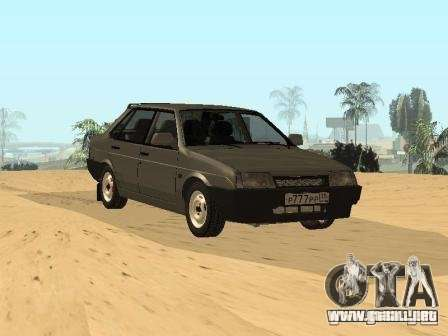 VAZ 21099 verano para GTA San Andreas