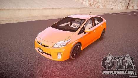 Toyota Prius 2011 para GTA 4