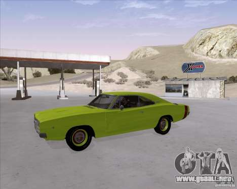 Dodge Charger RT 440 1968 para visión interna GTA San Andreas
