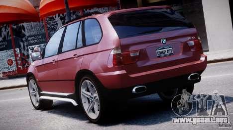 BMW X5 E53 v1.3 para GTA 4 interior