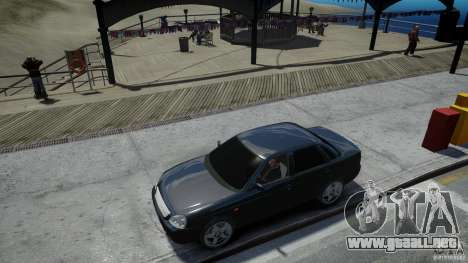 Lada Priora Light Tuning para GTA 4 vista superior
