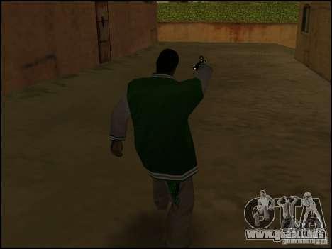 Arma en la mano para GTA San Andreas tercera pantalla