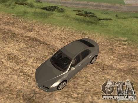Alfa Romeo 159Ti para vista lateral GTA San Andreas