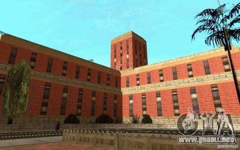 Nuevas texturas para el hospital en Los Santos para GTA San Andreas sexta pantalla