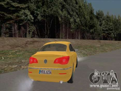 Volkswagen Passat CC para la visión correcta GTA San Andreas