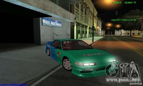 Nissan Silvia S13 Tunable para vista inferior GTA San Andreas