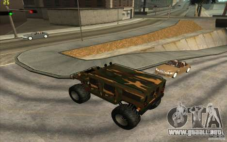 Hummer H1 Humster para GTA San Andreas left