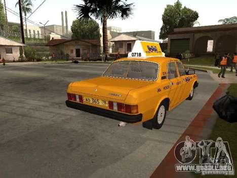 Volga GAZ 31029 Taxi para GTA San Andreas left