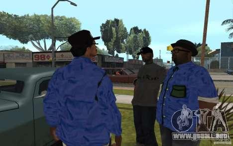 Crips 4 Life para GTA San Andreas