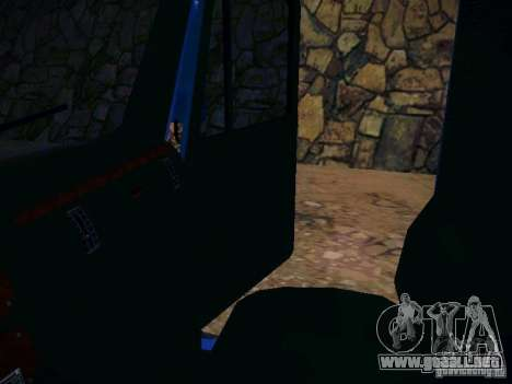 Mack ch 613 para GTA San Andreas vista hacia atrás