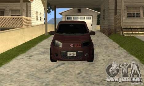 Fiat Novo Uno Sporting para GTA San Andreas left