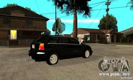 Chrysler Pacifica para la visión correcta GTA San Andreas