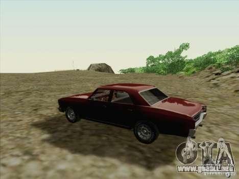 Chevrolet Chevelle para la visión correcta GTA San Andreas