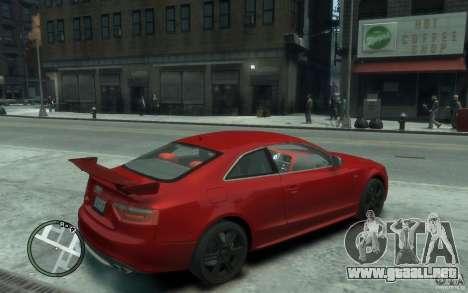 Audi S5 v2 para GTA 4 visión correcta