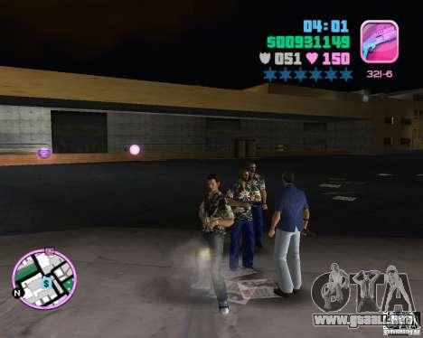 Desgaste de la banda de VeRcEttI para GTA Vice City sucesivamente de pantalla