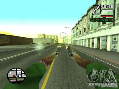 Primera persona (First-Person mod) para GTA San Andreas twelth pantalla