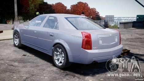 Cadillac CTS para GTA 4 vista lateral