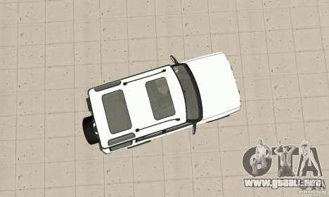Land Rover Discovery 2 para la visión correcta GTA San Andreas