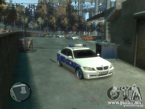 BMW 320i Police para GTA 4