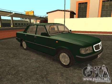 GAZ 3110 v. 2 para la visión correcta GTA San Andreas